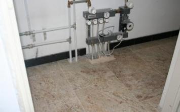 Vloerverwarming frezen.nl - Vloerverwarming, Vloerverwarming na oplevering